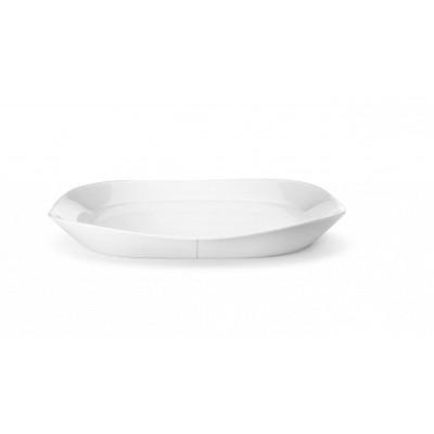 Kippplatte quadratisch - Weiß