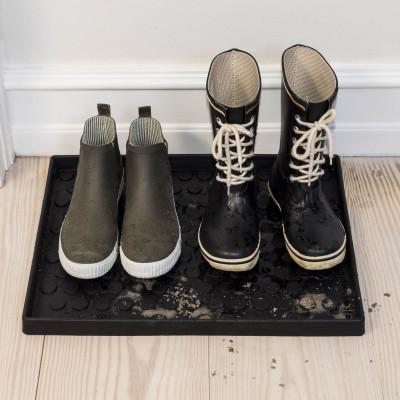 Schuh- und Stiefelabtropfschale | Dots