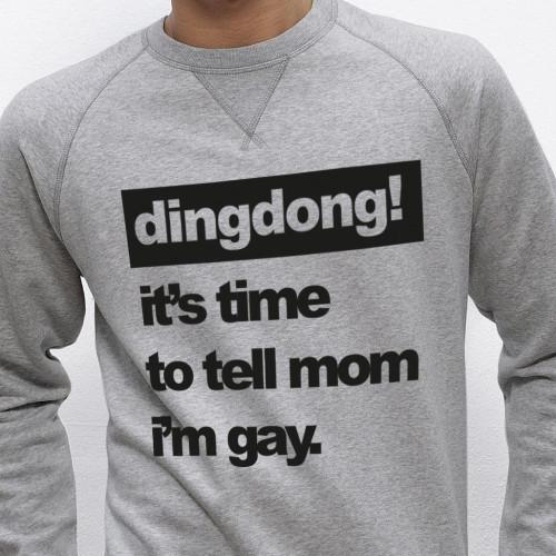 Pullover   Männer   Es ist Zeit, Mama zu sagen, dass ich schwul bin