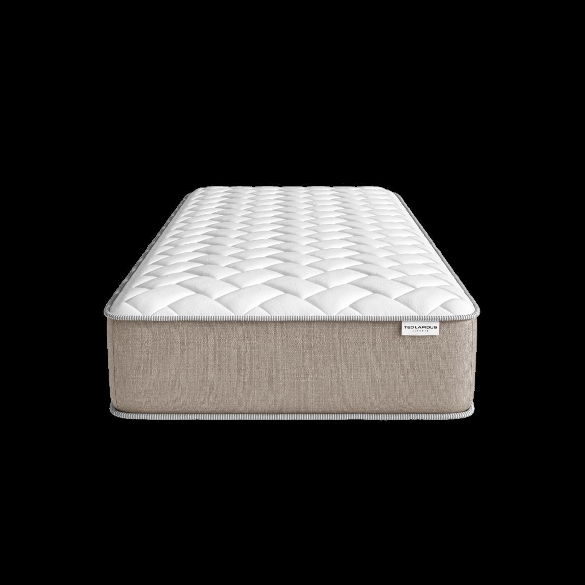 Boxspring & Matratze Memory-Schaumstoff & Kopfteil | Jaspe & Calcit & Jade-90x190 cm