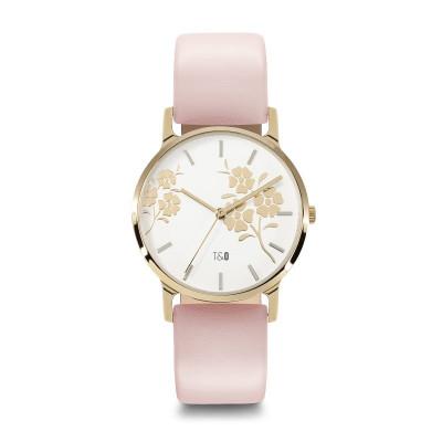 Frauen-Uhr Bloom 34   Rosa