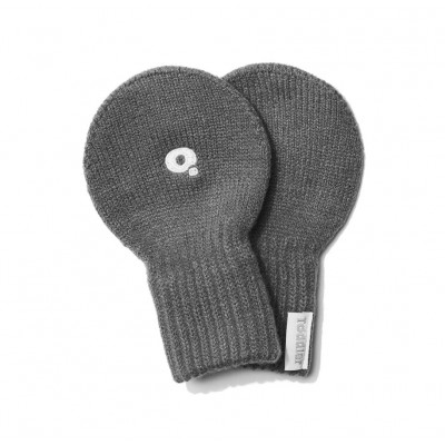 Winterhandschuhe für Kleinkinder | Wolle | Grau