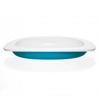 Flache Platte für Kinder | Blau