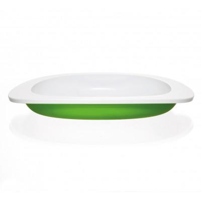 Flache Platte für Kinder | Grün