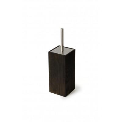 Toilettenbürste Mezza | Dunkles Holz