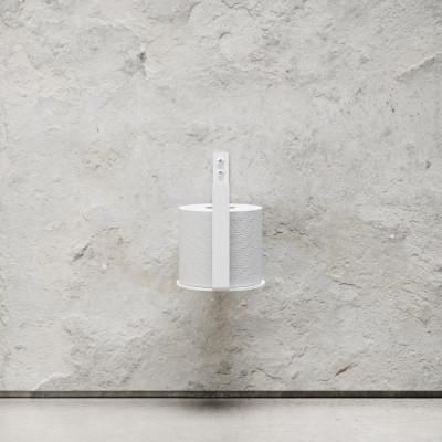 Toilettenpapierhalter Extra | Weiß