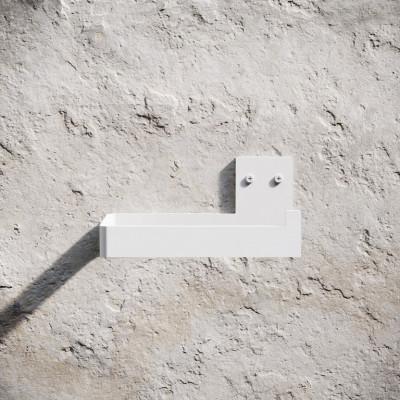 Toilettenpapierhalter | Weiß
