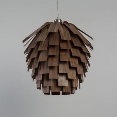 Scots Pendant Light   Walnut