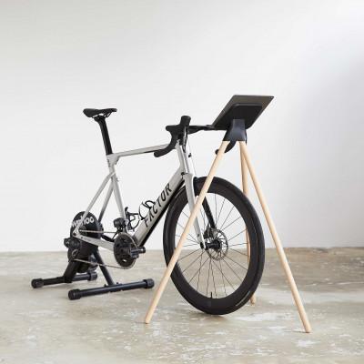 iPad-Ständer für Indoor-Cycling   Eiche