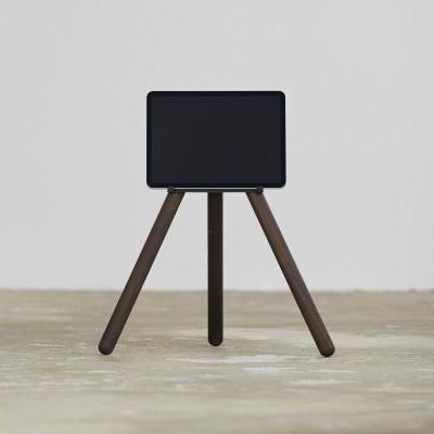 iPad Yoga-Ständer   Dunkle Eiche