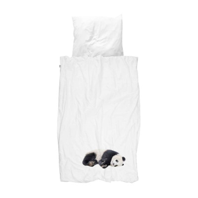 Bettdecke Lazy Panda