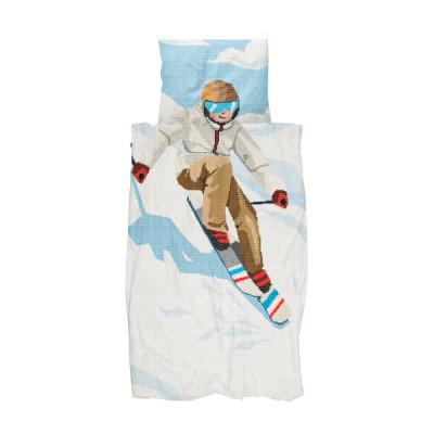Bettdecke Ski Boy | 140 x 200 / 220 cm