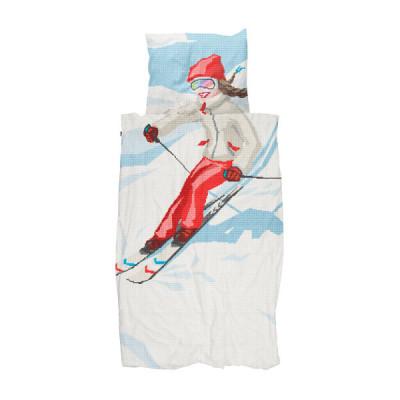 Bettdecke Ski Girl | 140 x 200 / 220 cm