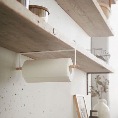 Shelf Paper Holder Tosca | White