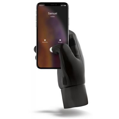 Isolierte Touchscreen-Handschuhe   Schwarz