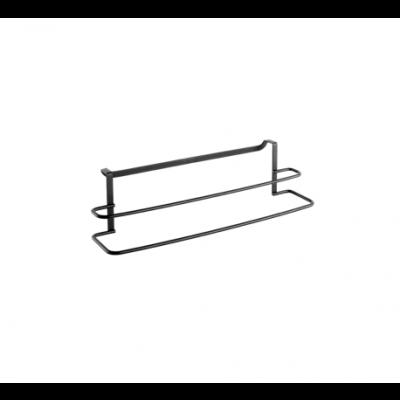Galileo Handtuchhalter 38cm | Schwarz