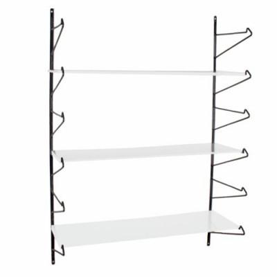 Weißes Modula-Regal