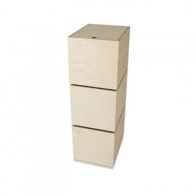 Karussell 3 Boxen | Weiß