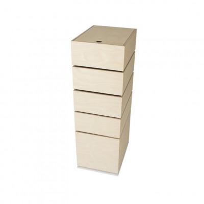 Karussell 5 Boxen | Weiß