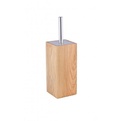 Toilettenbürste Mezza | Helles Holz
