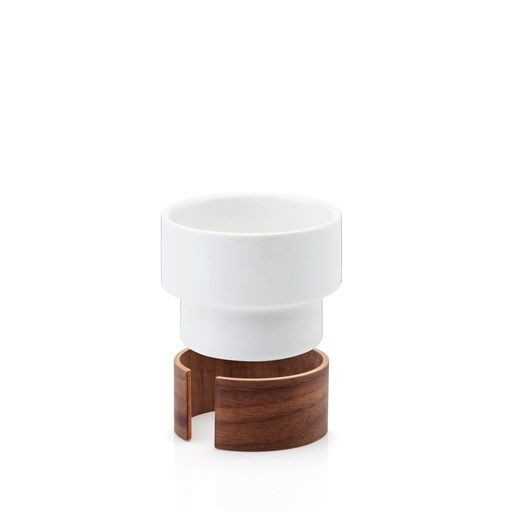 WARM Set of 2 Cappuccino Cups | White
