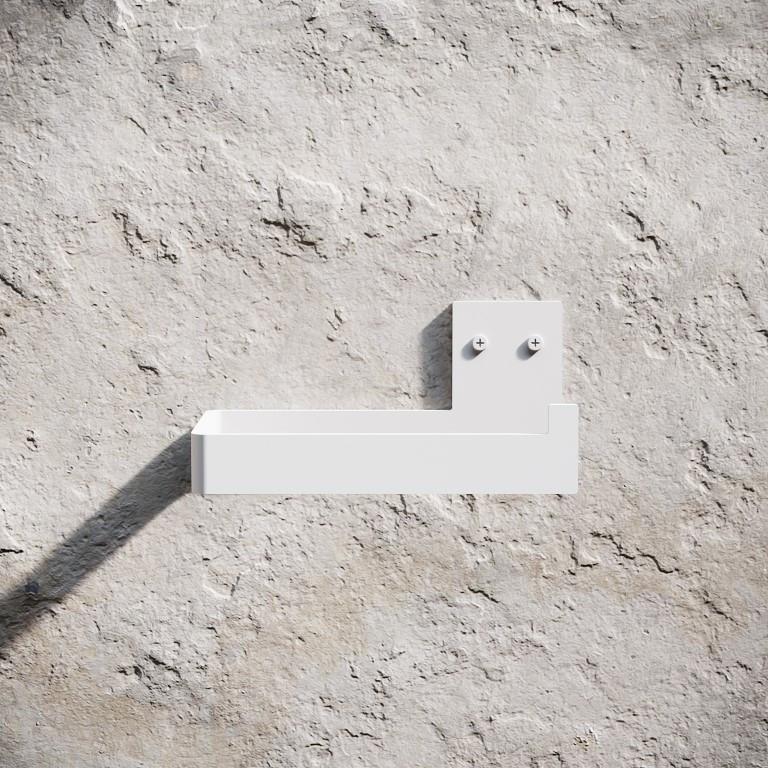 Toilet Paper Holder | White