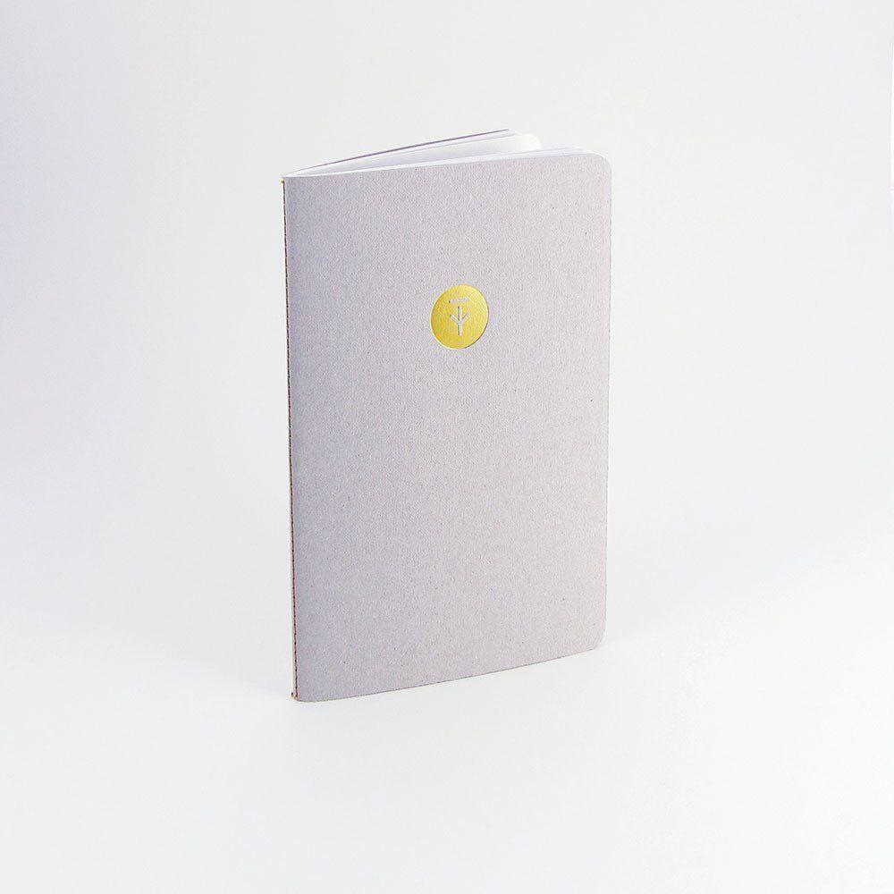 Tom Pigeon Notebook   Rough Grey