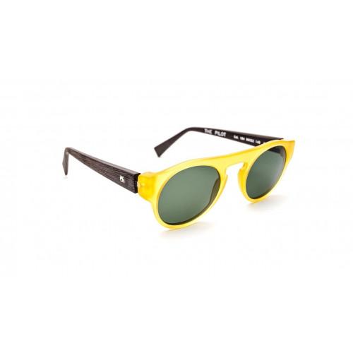 Unisex Sunglasses The Pilot | Yellow