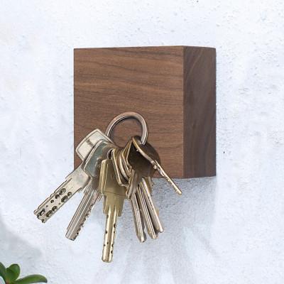 Magnetische Holzwürfel TRAKTOR | Walnuss