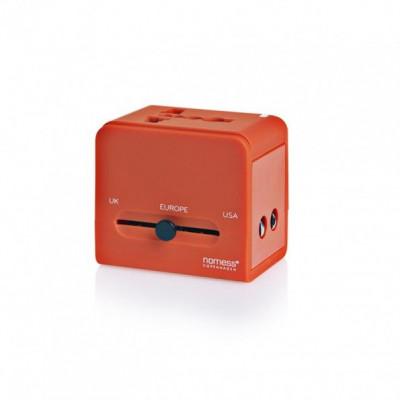 Reiseadapter | Orange