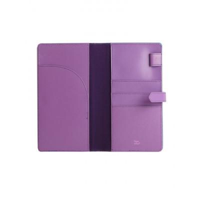 Reisebrieftasche Violett