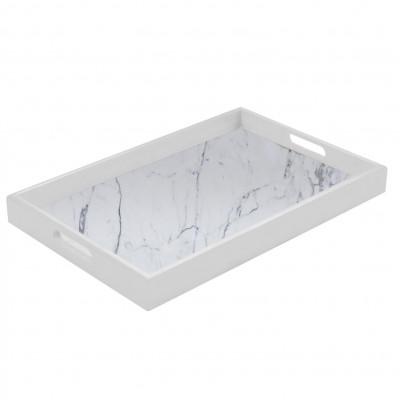 Marble Tray   Carrara White