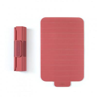 Rollbares Schneidebrett Roll   Rot