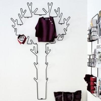 Garderobe Tree   Schwarz
