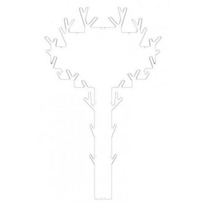 Garderobe Tree   Weiß