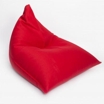Sitzsack Triangle + Nachfüllung | Rot