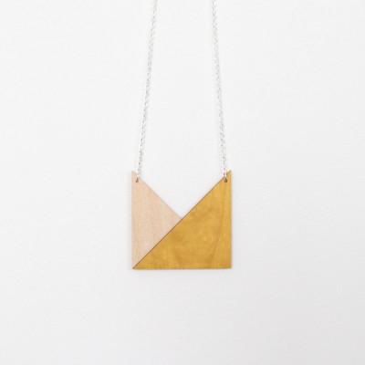 Snug. geometric Triangle   Mustard