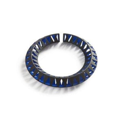 Tribù Bracelet 1 Bicolour | Black/Blue