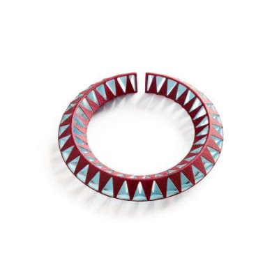 Tribù Bracelet 1 Bicolour | Burgundy/Sky Blue