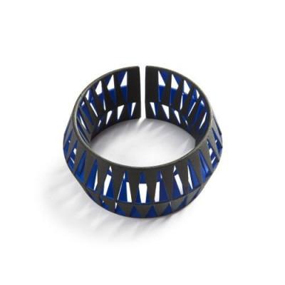 Tribù Bracelet 2 Bicolour | Black/Blue