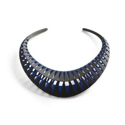 Tribù Necklace Bicolour | Black/Blue