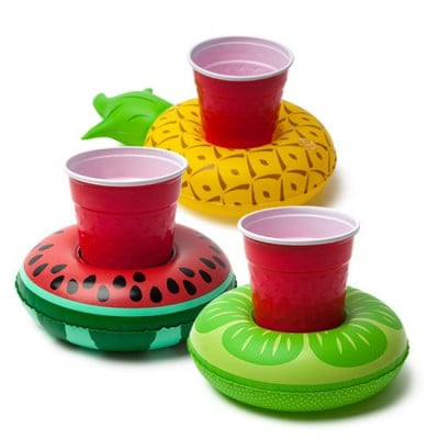 Beverage Boats Tropical Fruit | 3 Pieces