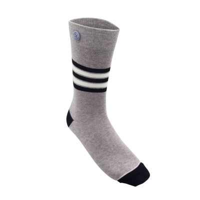 Tropical Socks | Grey Melange