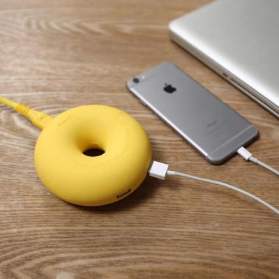 Ladestation Donut | Gelb