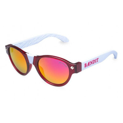 Salvatore Sunglasses | Translucent Red Frame & Red Lens