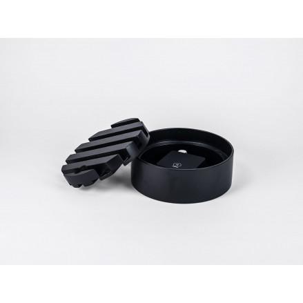 Trellis Desktop Charger | Black / Black