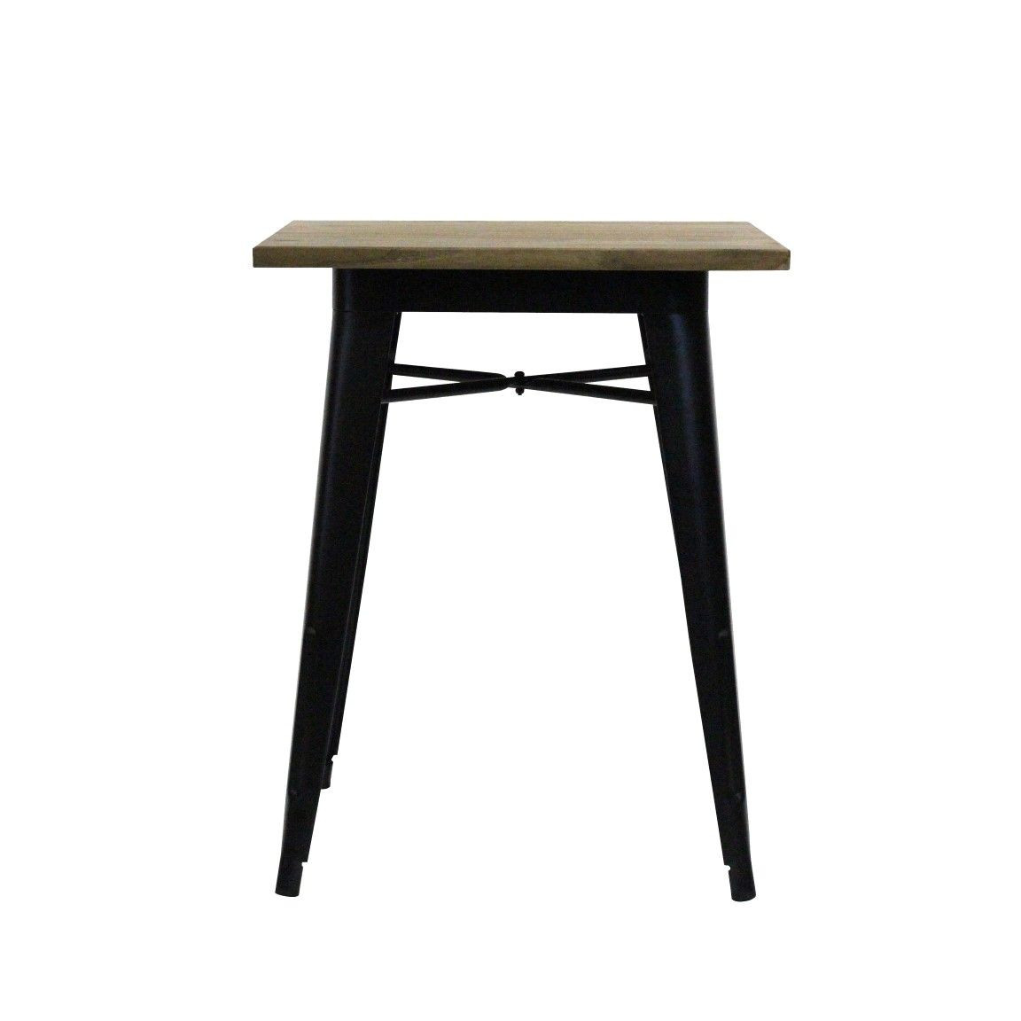 Tisch | Metall & Rüsterholz