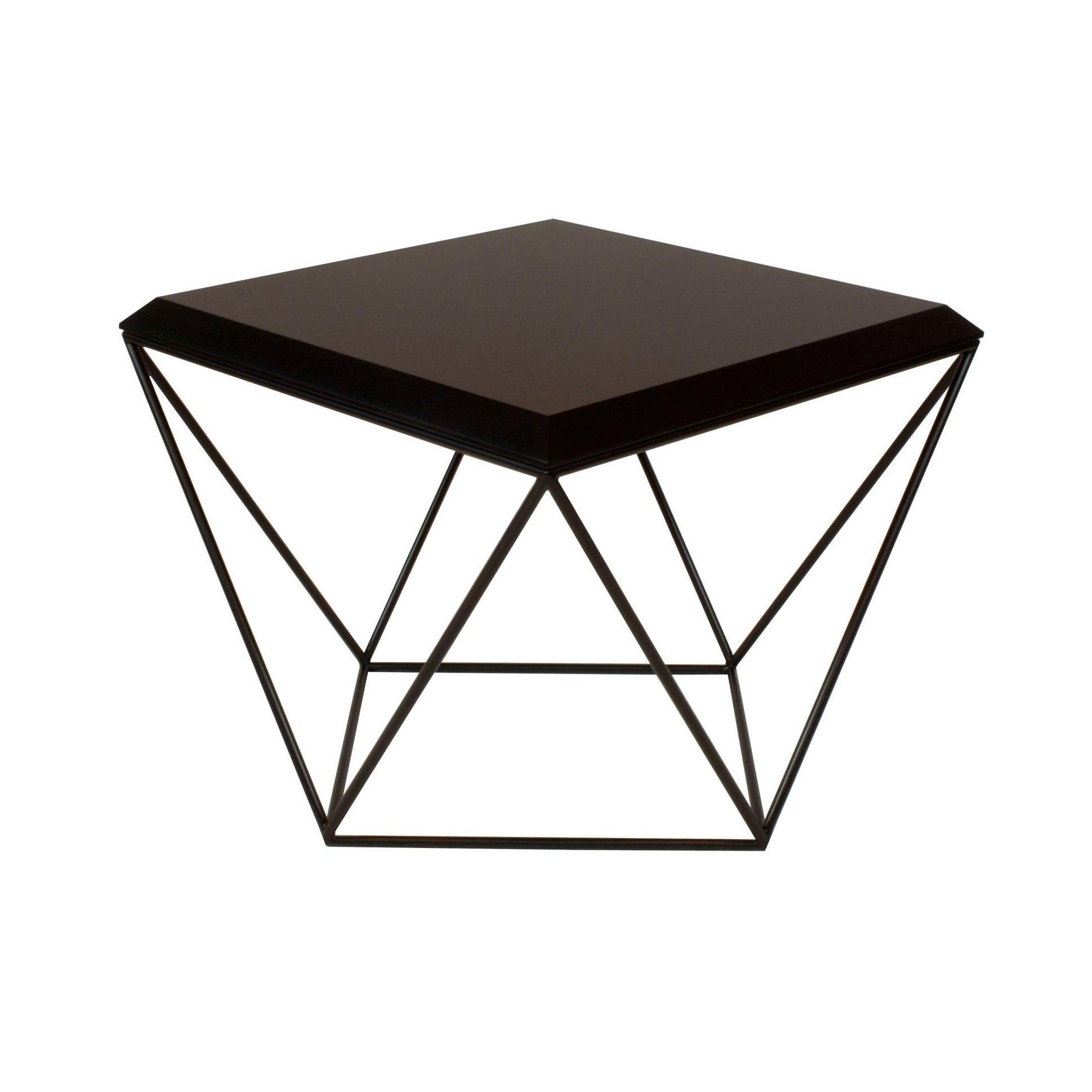 Tulip Coffee Table | MDF All Black