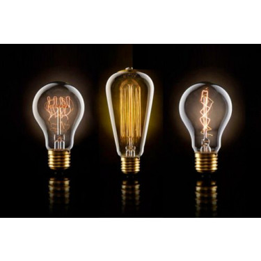 8 point filament bulb