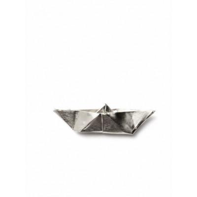 ORIGAMI Brooch   Silver
